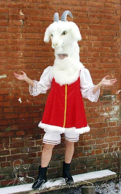 Коза новогодняя своими руками